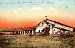 California Mission San Antonio de Padua 1916