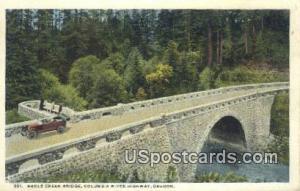 Eagle Creek Bridge Columbia River Highway OR Unused