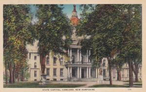 New Hampshire Concord State Capitol Building 1939