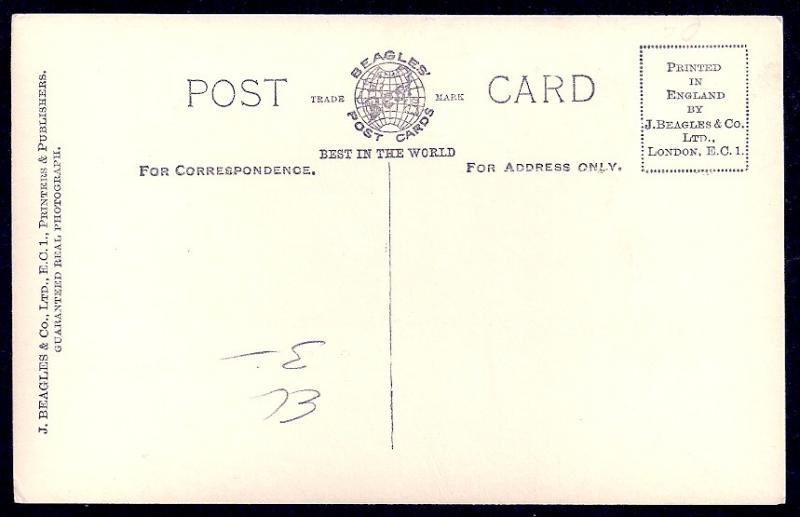 HRH Duke of Gloucester REAL PHOTO unused c1920's