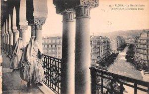 La Rue Michelet Alger Algeria Unused