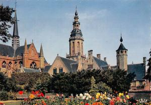 Belgium Veurne Park Eglise Church Flowers Fleurs