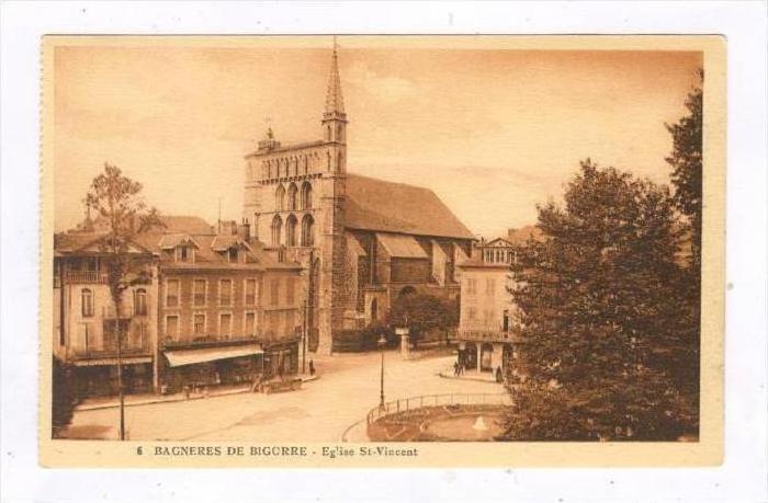 Bagneres-de-Bigorre , France, 1900-10s   Eglise-St-Vincent