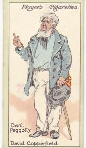 Cigarette Cards Players Characters From Dickens No 40 Dan'l Peggoty