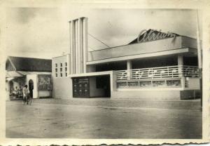 indonesia, JAVA MALANG, Bioscop Atrium, Cinema (1948) Real Photo