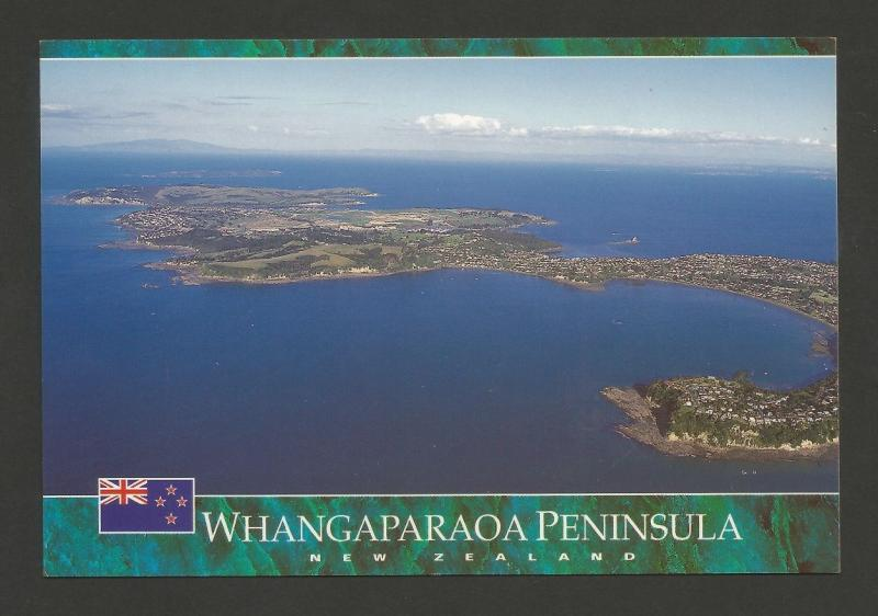 POSTCARD NZ NEW ZEALAND WHANGAPARAOA PENINSULA AUCKLAND Z1