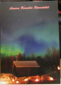 Finland Aurora Borealis Revontulet - unposted