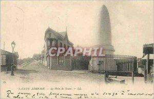 Old Postcard Sainte Adresse Sugar Loaf (map 1900)