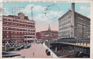 Arlington Hotel And Kilmer Building Bringhamton New York 1929
