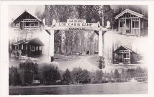 RP, QUESNEL, British Columbia, Canada, 1910-20s ; Cariboo Log Cabin Camp
