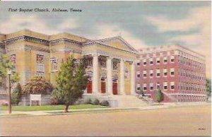 TX Abilene First Baptist Church
