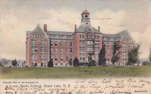 Keuka College, Keuka Lake, New York,PU-1906