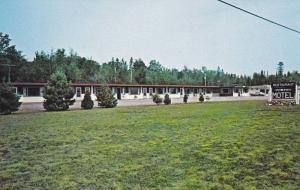 Exterior View, Blue Water Motel and Restaurant, Batchawana Bay, Ontario, Cana...