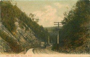Warsaw New York Gulf Road #1093 1908 Postcard Wilson 21-5945