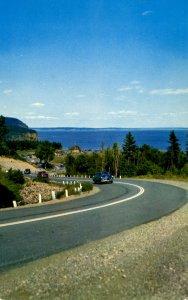Canada - New Brunswick. Fundy Nat'l Park, Road Scene