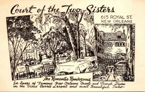 Louisiana New Orleans Court Of Two Sisters