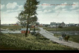 St. George Martinsville ME c1910 Postcard #2 EXC COND