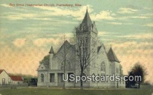 Bay Street Presbyterian Church in Hattiesburg, Mississippi