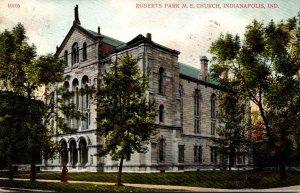 Indiana Indianapolis Roberts Park Methodist Episcopal Church