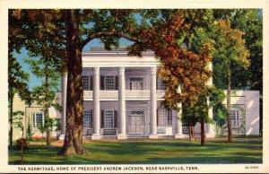 Tennessee Nashville The Hermitagr Home Of Presidebt Andrew Jackson Curteich