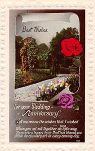 Best Wishes for your Wedding Anniversary roses, rosen