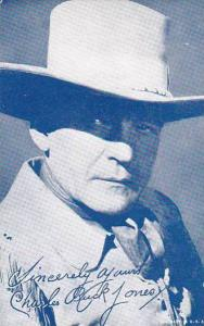 Cowboy Arcade Card Charles Buck Jones