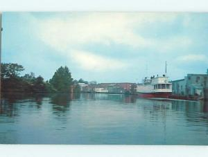 Unused Pre-1980 BOAT & DOCK IN WICOMICO RIVER Salisbury Maryland MD t4468