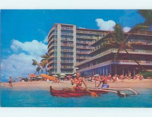 Pre-1980 HOTEL SCENE Waikiki - Honolulu Hawaii HI G9682