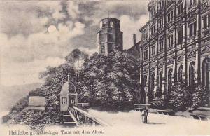 Achteckiger, Turm Mit Dem Altan, Heidelberg (Baden-Wurttemberg), Germany, 190...