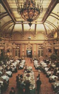 California San Francisco Sheraton Palace Hotel Garden Court