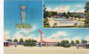 South Carolina Orangeburg Orangeburg Motor Court 1963