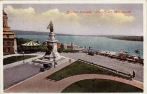 Scenic view, Champlain Monument,Quebec,Canada,00-10s