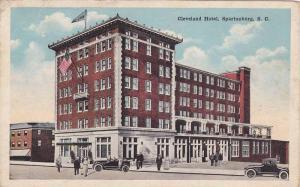Cleveland Hotel, Spartanburg, South Carolina, PU-1924