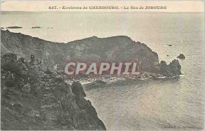 Old Postcard Environs de Cherbourg Nose of Jobourg