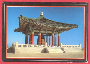 GREETINGS FROM KOREAN FRIENDSHIP BELL, SAN PEDRO, CA  1989  SEE SCAN
