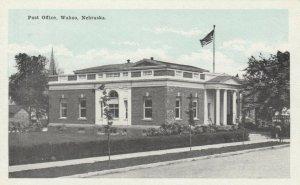 WAHOO , Nebraska , 1900-10s ;  Post Office