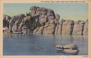 Sylvan Lake Custer State Park Black Hills South Dakota