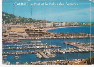 France Cannes Le Port et le Palais des Festivals