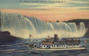 Maid Of The Mist, Niagara Falls, New York, NY USA Steam Ship Unused