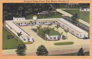 Florida Fort Myers Tropical Palms Court