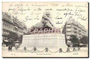Postcard The Old Paris Far from Belfort
