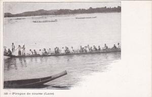 Pirogue De Course, LAOS, Asia, 1900-10s