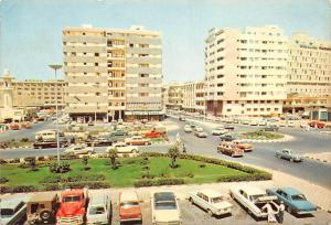 Saudi Arabia Jeddah - King Abdulaziz Street and the Square Auto Cars Voitures