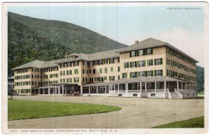 Franconia Notch, White Mts, N.H., New Profile House