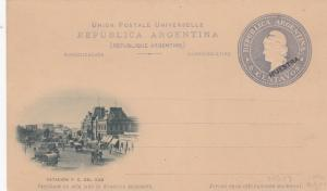 BUENOS AIRES , Argentina , 1890s ; Estacion F.C. Del Sud
