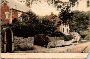 VTG Postcard Mitford Nr Morpeth Delware County New York Red Letter Graham 1315