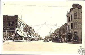 Jamestown, N.D., First Avenue South, Jewelry, Cars 40s