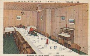 CHICAGO , Illinois, 1930-40s ; yonker's Pine Room