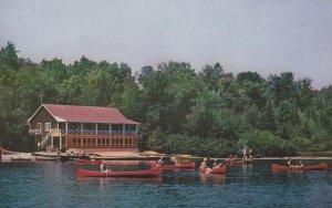 OTOREKE, Quebec, Canada, 1950-1960's; Camp Otoreke, YMCA Summer Resort, Conoe...