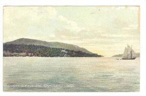 Sailboat, Looking Towards The Gap, Digby, Nova Scotia, Canada, 1900-1910s